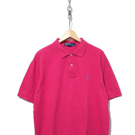 90's  Polo by Ralph Lauren 鹿の子 半袖ポロシャツ PINK