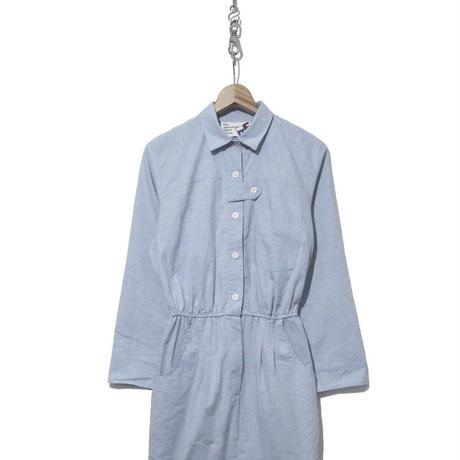 """""""レディース"""" 80's The American shirt Dress シャンブレー ワンピース USA製"""