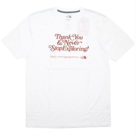 """新品 NY限定 The North Face """"Thank You&Never StopExplording!"""" TEE"""