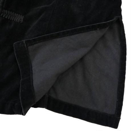 """""""Unisex"""" 90's~ MERONA """"Velor"""" China Jacket Black Mサイズ HONG KONG製"""