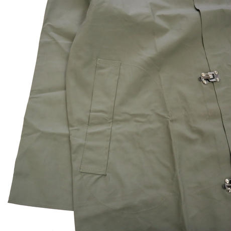 90's~ unknown Lubber Rain Coat KHAKI-GREY Sサイズ