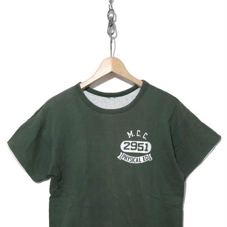 70's Champion バータグ リバーシブルTシャツ 3段プリント レアカラー