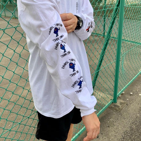 """Daniel Original """"Rat×Monster"""" プリント ロングスリーブ Tシャツ"""