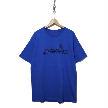 "FUCKING AWESOME ""FUCK"" プリントTシャツ BLUE"