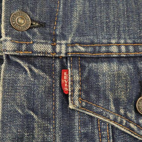 "60's~ LEVI'S 70505 ""BIG-E"" DENIM TRACKER JACKET (40相当)"
