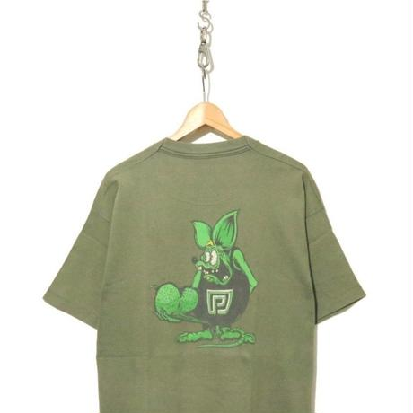 "90's Powell Peralta ""Rat Nuts"" 両面プリント Tシャツ XLサイズ USA製"