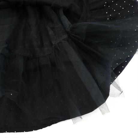 """Ladys"" 90~00's ピンドット ビスチェワンピース BLACK×WHITE"