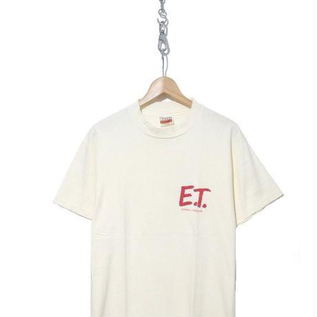 """80's Hanes """"E.T."""" パロディ プリント Tシャツ Lサイズ usa製"""