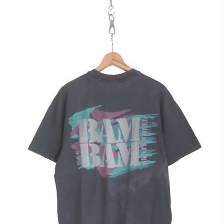 "80's~90's Stedman G&S ""BAM BAM"" 両面プリント Tシャツ XL USA製"