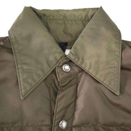 70's THE NORTH FACE 茶タグ ダウンシャツジャケット Sサイズ USA製