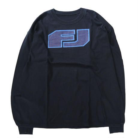 """00's """"FJクルーザー"""" ロゴ プリント ロングスリーブTシャツ BLACK"""