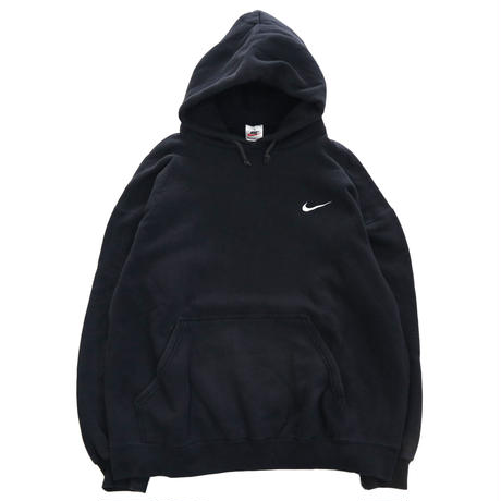 """90's OLD NIKE """"Embroidery Small Swoosh"""" スウェット パーカー Mサイズ USA製"""