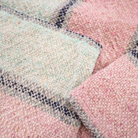 ~90's unknown Baja Mexican Parka Pink×Mint XLサイズ
