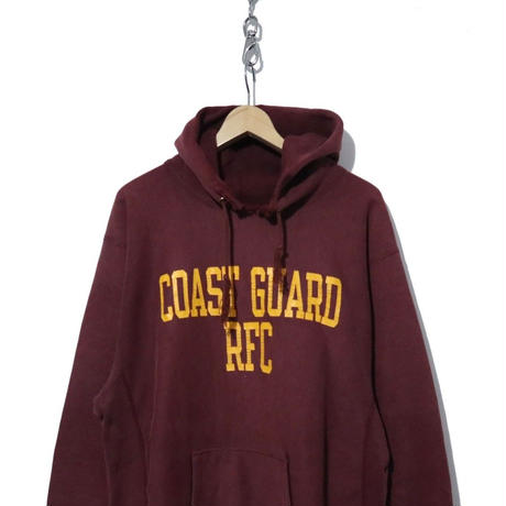 """80's CHAMPION REVERSE WEAVE PARKA 両面プリント """"COAST GUARD"""""""