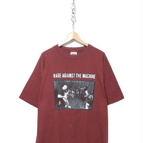 90's RAGE AGAINST THE MACHINE プリント Tシャツ XLサイズ