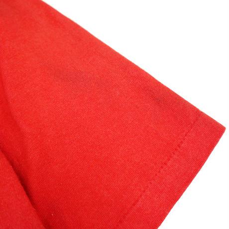 90's Hanes CHICAGO BULLS プリント Tシャツ Red Lサイズ