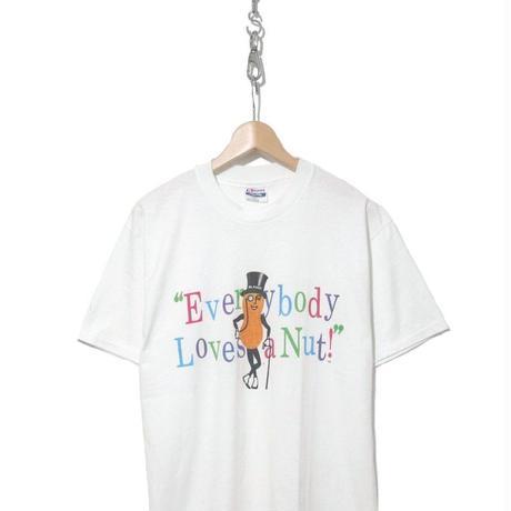 """90's Hanes """"Mr. PEANUTS"""" プリント Tシャツ Lサイズ USA製"""
