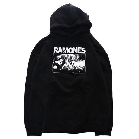 00's RAMONES プリント スウェット パーカー Lサイズ