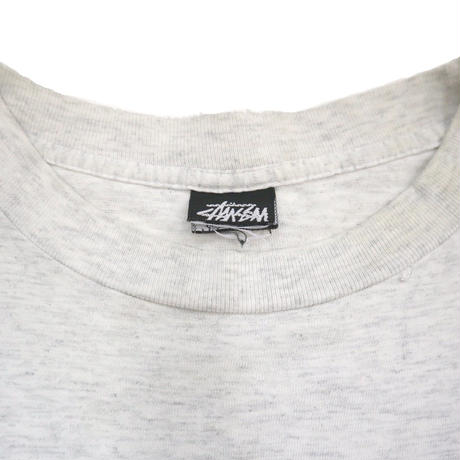 "90's OLD STUSSY ""ハーレー"" プリント Tシャツ 黒タグ USA製"