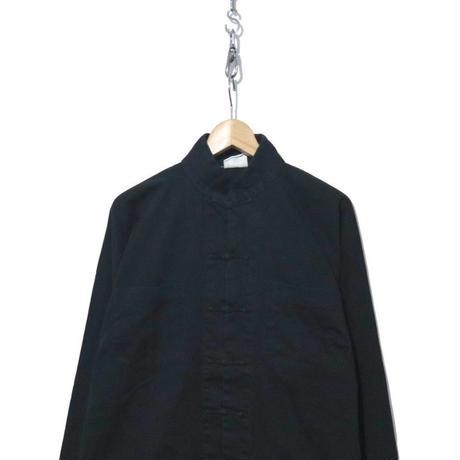 90's~ コットン カンフー ジャケット BLACK