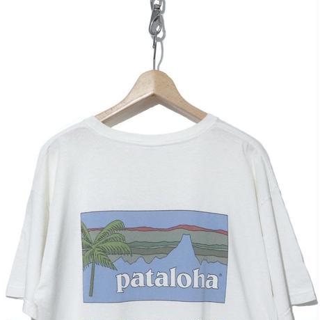 "90's~ OLD PATAGONIA ""pataloha"" プリント Tシャツ Lサイズ USA製"