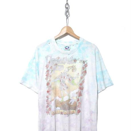 "90's Grateful Dead ""JUNK"" タイダイ プリント Tシャツ XL USA製"