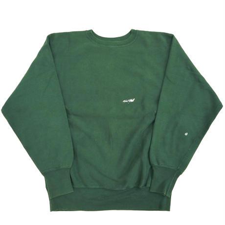 """90's CHAMPION RW SWEAT 目無し """"バックプリント"""" Green XLサイズ USA製"""