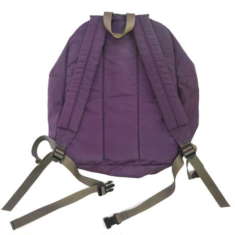 "90's LL Bean Back Pack ""DELUXE BOOK PACK"" 色褪せパープル"