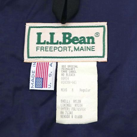 ~90's LL Bean PRIMALOFT ナイロン ジャケット GREEN Mサイズ USA製