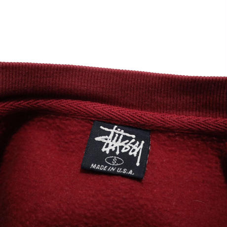 90's OLD STUSSY DRAGON プリント スウェット USA製