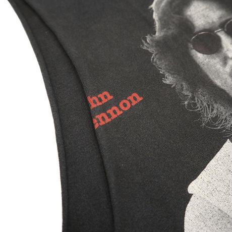 "90's Winterland ""John Lennon"" 両面 プリント カットオフ Tシャツ Lサイズ USA製"