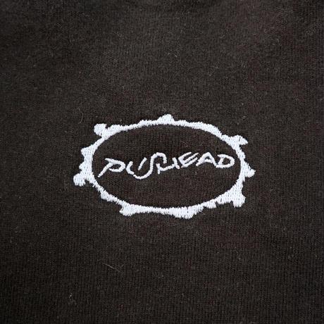 "NOS 90's Fruit of the loom ""Pushead"" 両面 プリント スウェット Lサイズ"