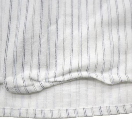90's~ GOLDEN SUPREME ストライプ パジャマシャツ White XLサイズ