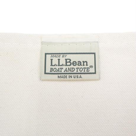 LL Bean BOAT AND TOTE BAG Natural×Green USA製