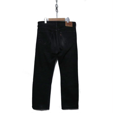 "LEVI'S 501 ""BLACK"" Denim Pants 33×34 Colombia製"