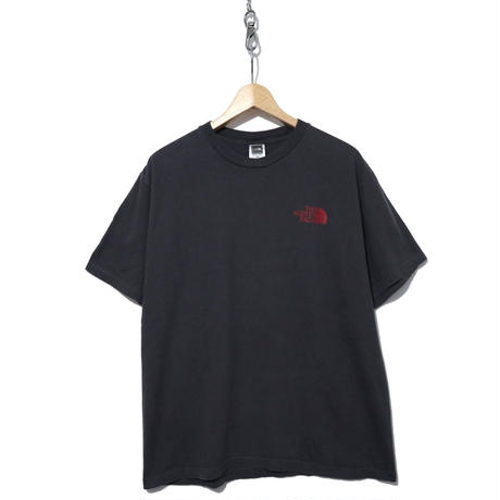 00's~ THE NORTH FACE 両面プリントTシャツ Charcoal Gray
