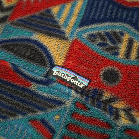 """90's PATAGONIA フリース スナップT """"アボリジニ"""" XLサイズ USA製"""