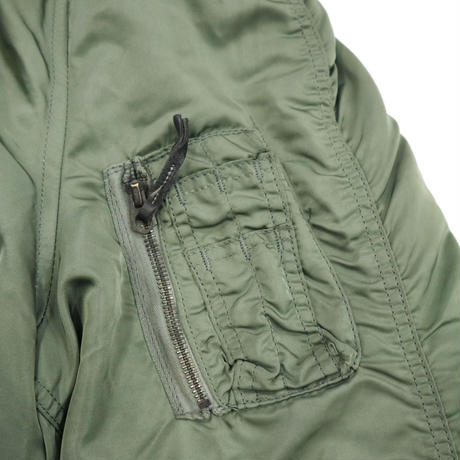 "80's ALPHA INDUSTRIES ""JUNK"" N-2B フライトジャケット LARGE"