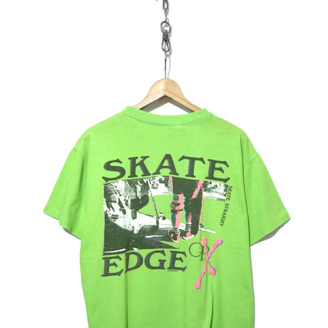 """90's  Ocean Pacific OLD SKATE プリントTシャツ """"SKATE EDGE"""""""