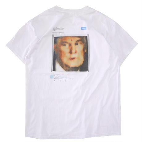"SANS YOUTH ""Donald Trump"" 両面 プリント ポケット Tシャツ Lサイズ"