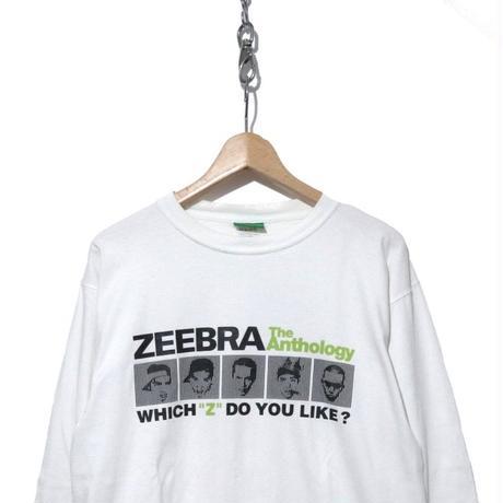 """00's ZEEBRA """"The Anthology"""" プロモ用 ロングスリーブTシャツ"""