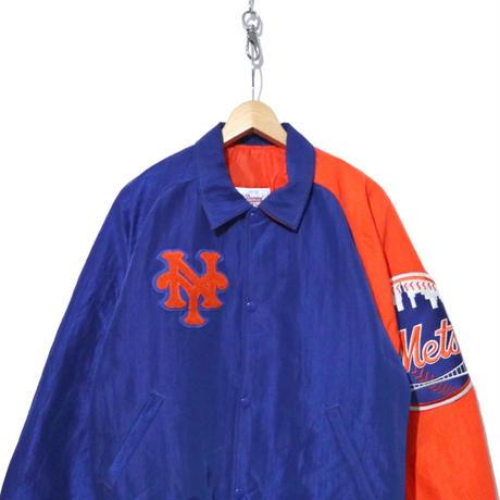 "90's STARTER ナイロンスタジャン ""New York Mets"" USA製"
