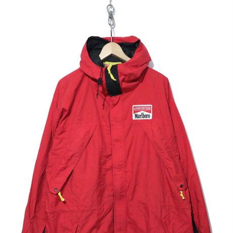 90's Marlboroオフィシャル ナイロン切り替えジャケット RED