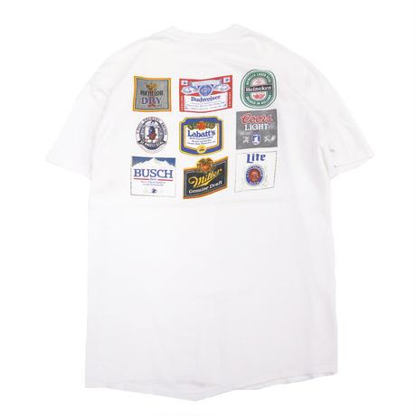 "~90's STEDMAN ""BEER"" 両面 プリント Tシャツ  XLサイズ USA製"
