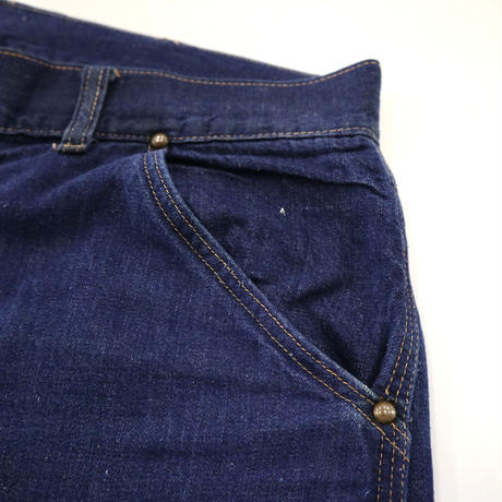 50~60's STRONG RELIABLE by Sears 濃紺 Denim Painter Pants