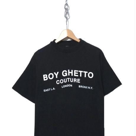 90's~ BOY LONDON 両面 プリント Tシャツ BLACK