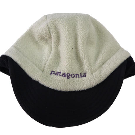 PATAGONIA ダックビル フリースキャップ NATURAL×BLACK