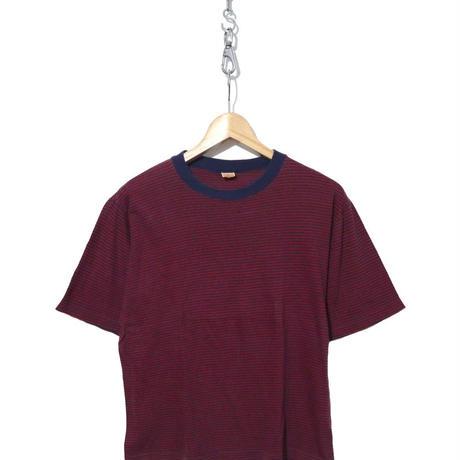 60's~70's Jantzen 細ピッチ ボーダー Tシャツ Mサイズ USA製
