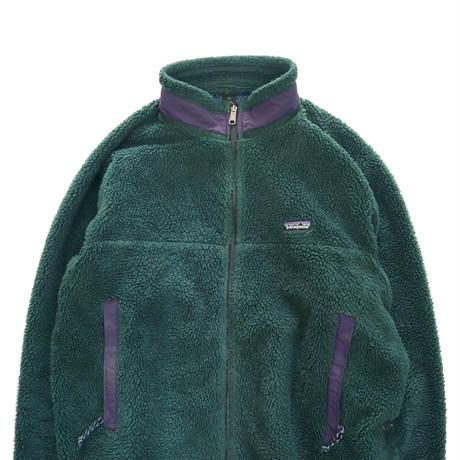 90's PATAGONIA 初期 レトロX フリース ジャケット Hunter Green XXLサイズ