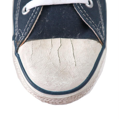 90's CONVERSE ALL STAR Low NAVY US10.5 USA製